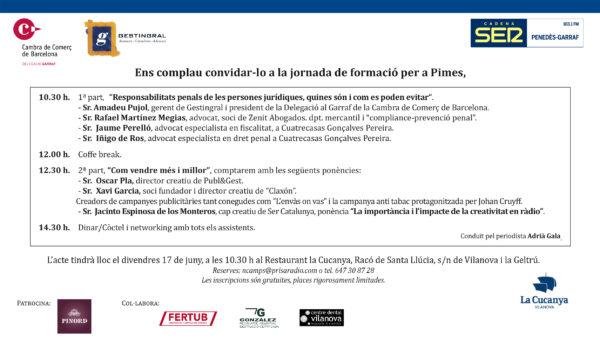 Jornada gratuïta · Responsabilitats penals de les persones jurídiques