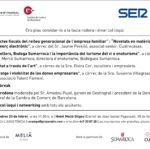 Gestingral, Cadena SER i Talent Femení organitzen una jornada empresarial gratuïta aquest divendres a l'Hotel Melià Sitges