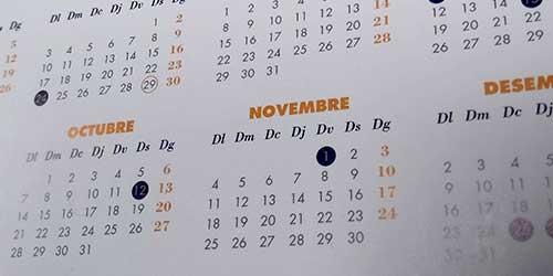 Calendari Laboral Oficial 2019
