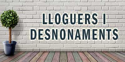 Lloguers i desnonaments. Novetats març 2019