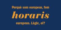 Horaris europeus a Gestingral