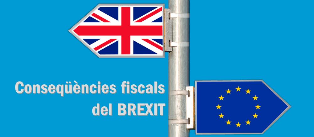 Conseqüències fiscals del Brexit