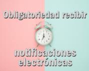 Recibir notificaciones