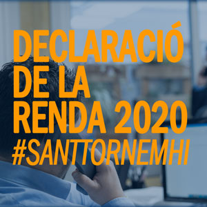 Declaració renda 2020 Vilanova i la Geltrú